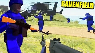 RAVENFIELD - CATAPULTADOS AL CIELO... EL BATTLEFIELD DE COLORINES