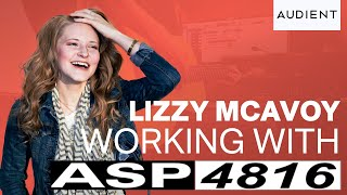 Lizzy McAvoy Audient Vlog #8 - All About the Music with ASP4816