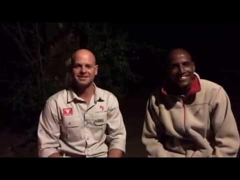Campfire chat with Masai safari guide Steven Liaram #MaraLive #MakeItKenya #HerdTracker