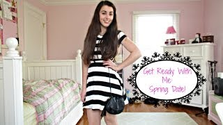 Get Ready With Me: Spring Date! Thumbnail