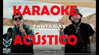 Rauw Alejandro ft Farruko Karaoke Acústico Fantasías