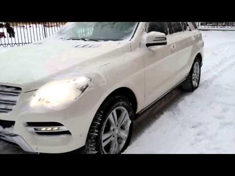 Купить Mercedes-Benz M-класса 2013 года (W166) белый - Москва