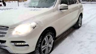 Купить Mercedes-Benz M-класса 2013 года (W166) белый - Москва(, 2016-01-14T18:13:37.000Z)