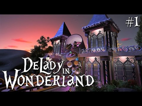 1. Planet Coaster: DeLady in Wonderland - Fairytale/Fantasy/Candy - Ep. 1 - The entrance