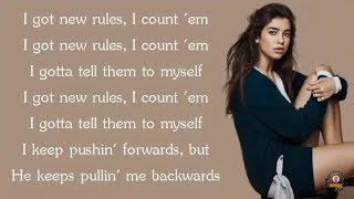 Dua Lipa - New Rules (Lyrics) #dualipa #newrules #Vevo #VevoCertified #grammy #music #lyrics #pop