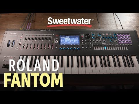 Roland Fantom Workstation Keyboard Demo with Daniel Fisher