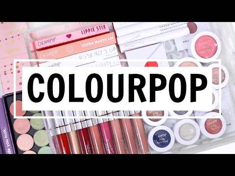 HUGE COLOURPOP HAUL SPRING 2017! | NEW Pressed Eyeshadows, Lip Products, And More