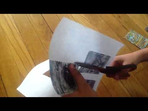 How to make pokemon cards