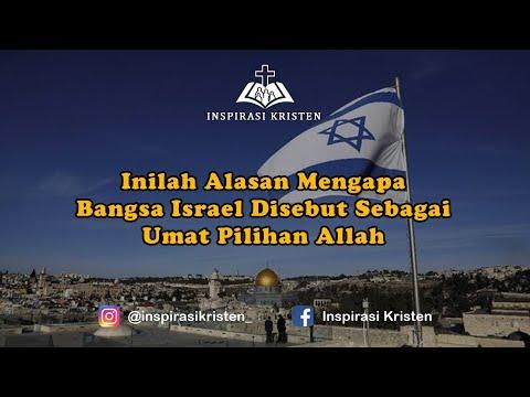 Inilah Alasan Mengapa Bangsa Israel Disebut Sebagai Umat Pilihan Allah