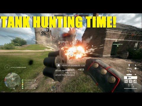 BATTLEFIELD 1 - TANKERS BEWARE! TANK HUNTING WITH NINJA! thumbnail