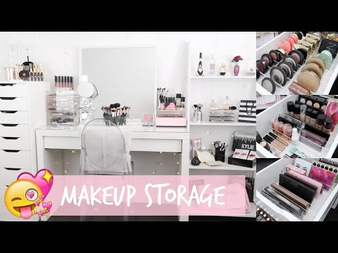 MAKEUP STORAGE & ORGANIZATION for IKEA Alex Drawers