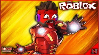 ROBLOX Indonesia #163 Ironman Scripting | Finally wear the original IRONMAN robe