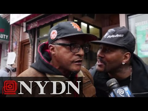 NYC Reacts: '[Eric Garner] got murdered'