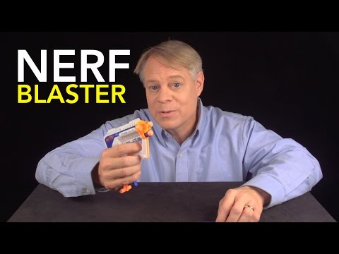 Engineering Guy - NERF Blaster: Air Restriction Mechanism