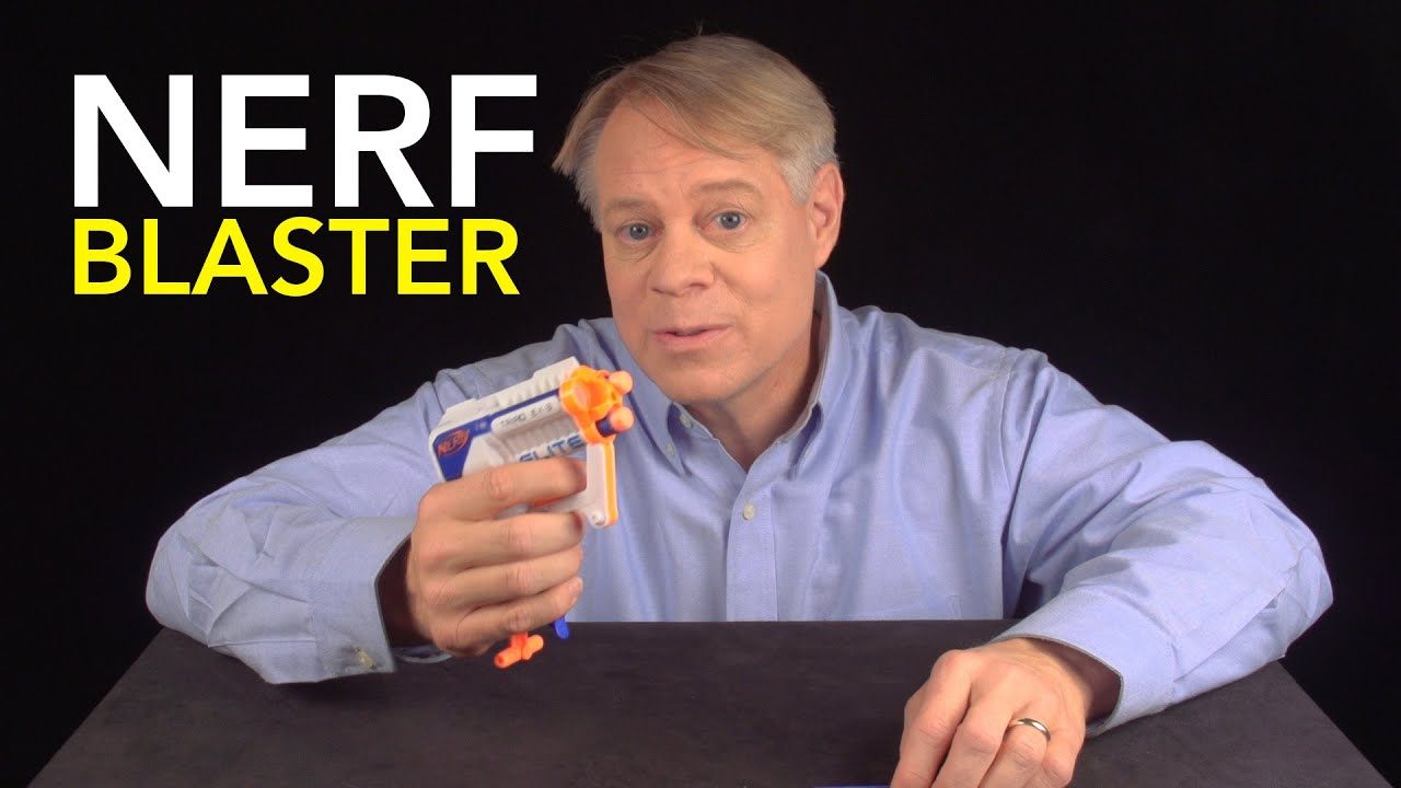 NERF Blaster:  Air Restriction Mechanism