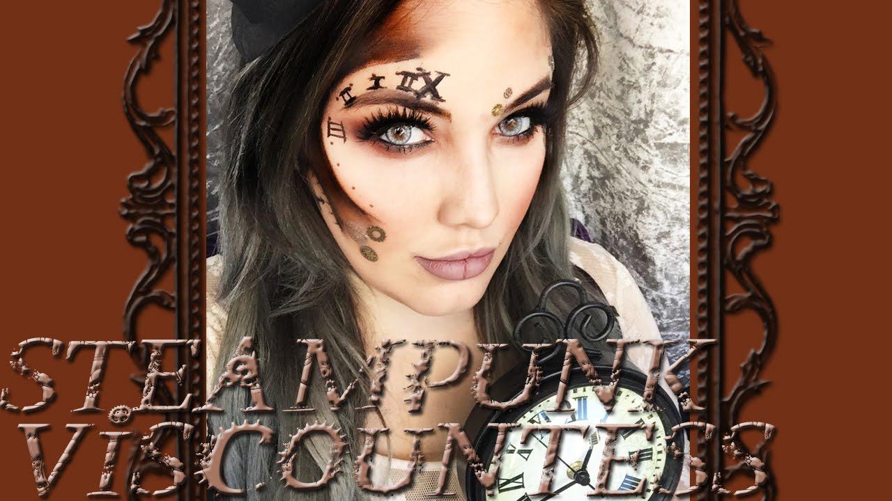 steampunk viscountess makeup tutorial youtube. Black Bedroom Furniture Sets. Home Design Ideas