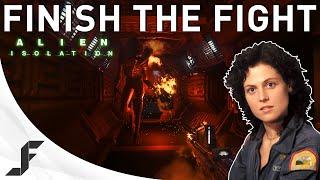 finish the fight alien isolation crew expendable walkthrough