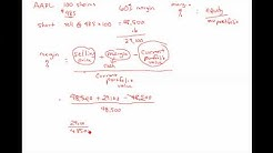 Shorting Stocks (Basic Margin Calculations)