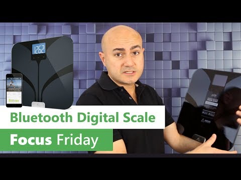 Smart Body Fat Bluetooth Digital Scale by Weight Gurus