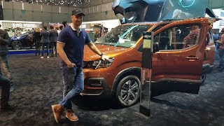 Peugeot Rifter 2019 - Geneva Motorshow