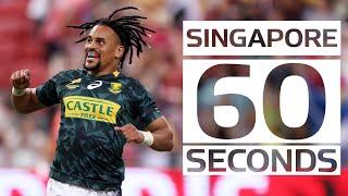 Singapore Sevens: 60-second catch-up