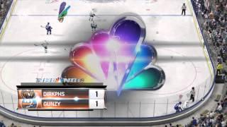 NHL® 15 5 v 3 ot vs top 100 dirkph into shootout. This is how u play defense Thumbnail