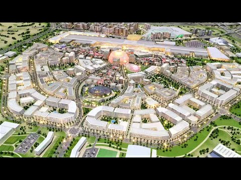 Dubai Expo 2020 district, Dubai South, Al Maktoum Int'l Airport