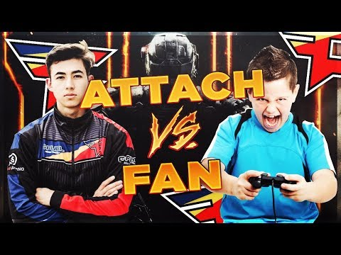 FaZe Attach vs Fan (Black Ops 3 1v1)