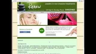 Demo of Free Salon Website Review from SEOnet