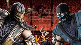 Scorpion vs Sub-Zero. Épicas Batallas de Rap del Frikismo | Keyblade