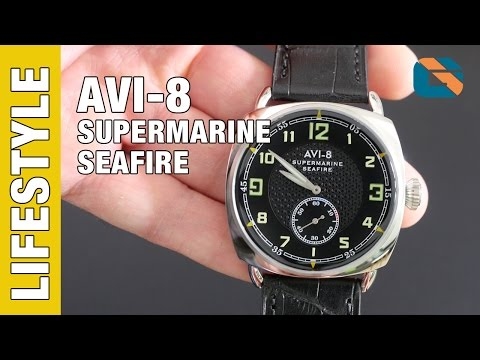 AVI-8 Supermarine Seafire Watch AV-4033-03 Watch Review - Watches Up Close & Personal