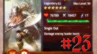 Heroes Of Camelot - Episode 23 - Evolving 7 cards Arial's Champion Thumbnail