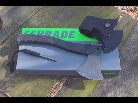 Schrade SCAXE2 Survival Hatchet - Review