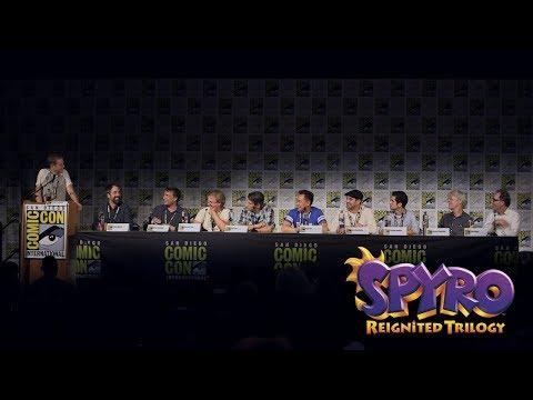 Spyro: Reigniting a Legend Panel at San Diego Comic Con 2018 | Spyro Reignited Trilogy
