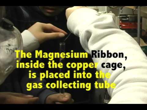 Magnesium Ribbon And Hydrochloric Acid Reaction