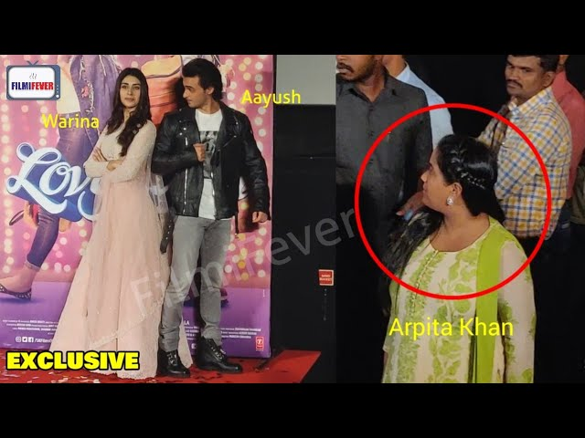 Salmans Sister Arpita Khan Gets JEALOUS Of Warina Hussain For Aayush Sharma At LOVERATRI Event