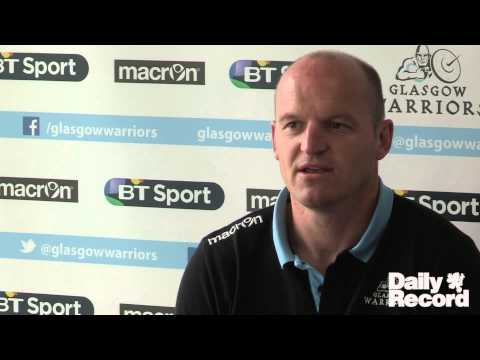 Daily Record Rugby Show - Gregor Townsend interview