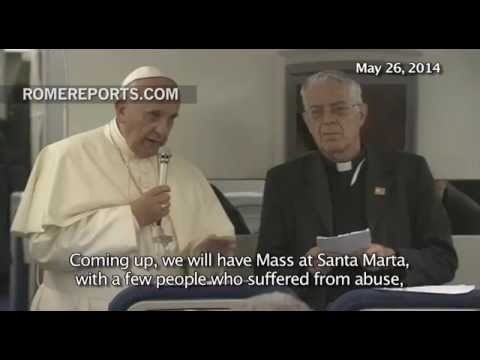 On Monday, Pope Francis will meet with victims of sexual abuse