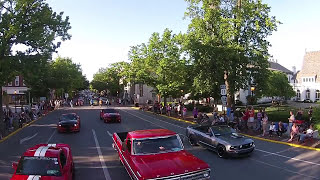 2017 Carlisle All-Ford Nationals Downtown Parade Drone Footage