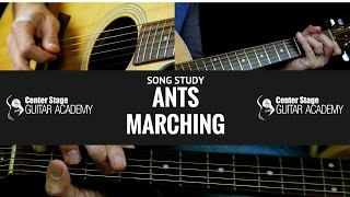 How To Play Ants Marching on Guitar