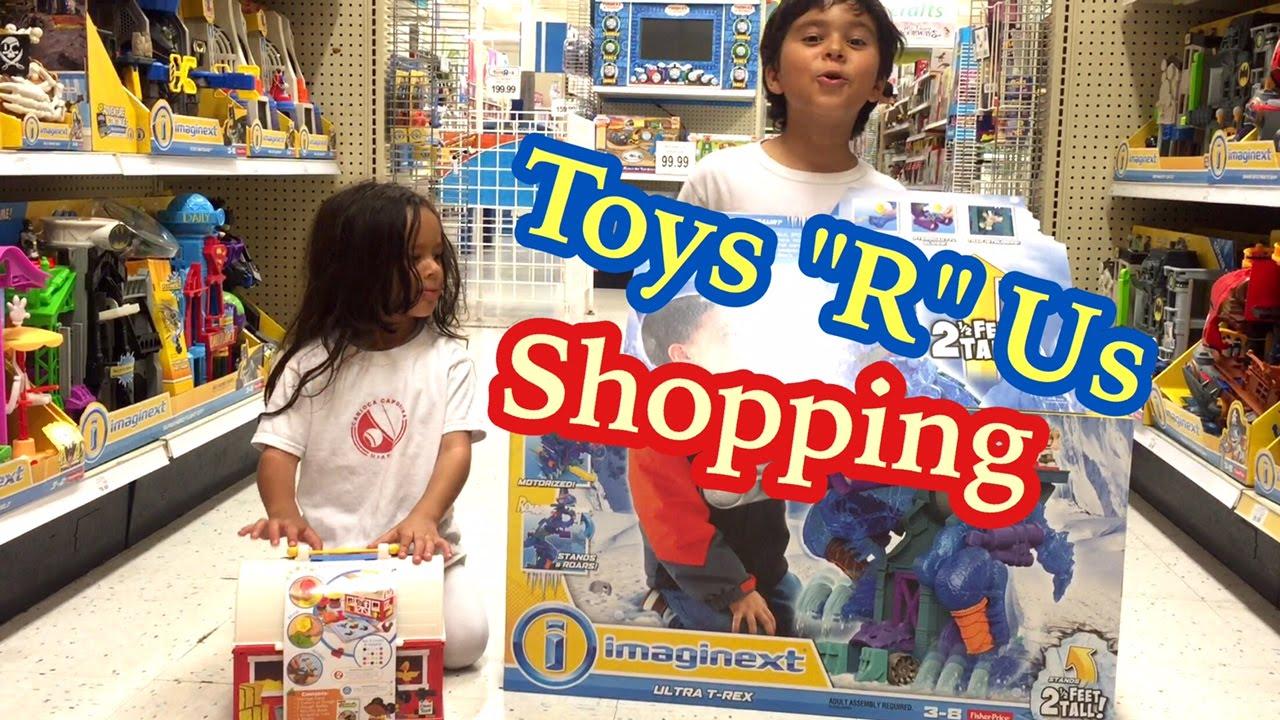 Toy Time Toys R Us Shopping Minecraft Pokemon Yu Gi Oh Cards