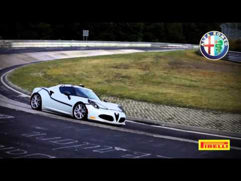 Alfa Romeo 4c sports car Nurburgring record lap - carphile.co.uk