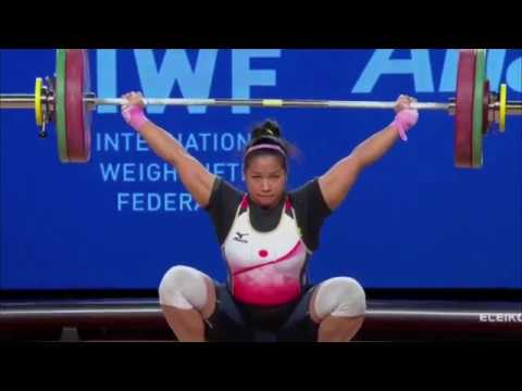 Women's 75 kg A Session Snatch - 2017 IWF Weightlifting World Championships (WWC)