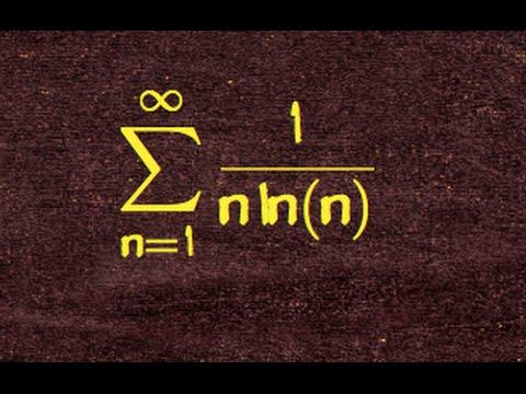 151.wk9. using cauchy's condensation test  on  sum 1/(n ln n)