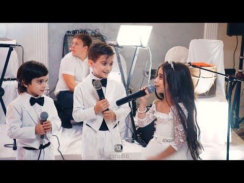 Дети спели на свадьбу сестры, до слёз