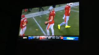 Derek Carr AWESOME TD Drive To Possibly Take The Win! | Pro Bowl 2018