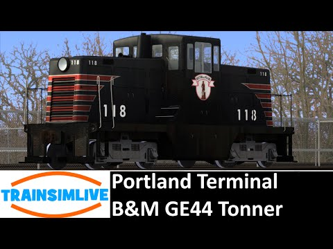 Let's Play Train Simulator 2016 - Portland Terminal, GE44 B&