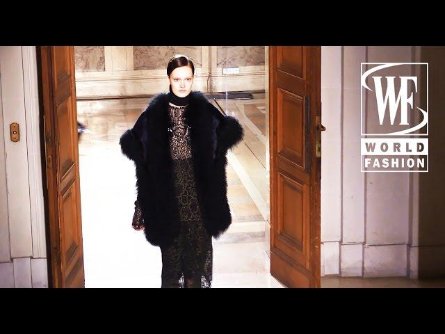 Sharon Wauchob Fall-Winter 15-16 Paris Fashion Week