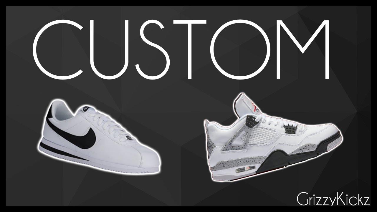 925427538305 Nike Cortez CM4 Custom - YouTube