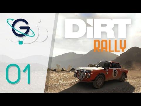 Dirt Rally : Je me traine en Grèce   Carrière #01 FR